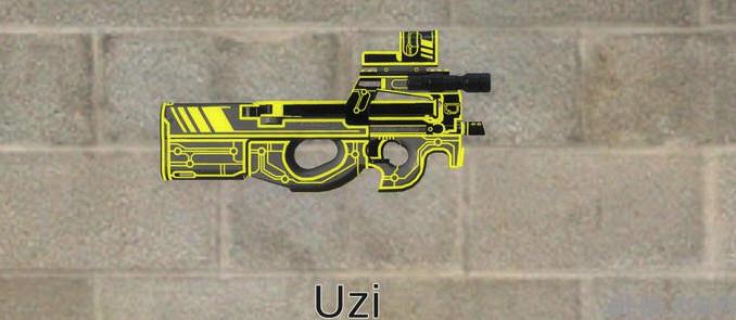 求生之路2杀戮空间2霓虹p90冲锋枪MOD截图1