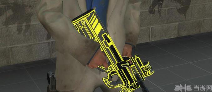 求生之路2杀戮空间2霓虹p90冲锋枪MOD截图4