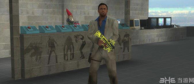 求生之路2杀戮空间2霓虹p90冲锋枪MOD截图3