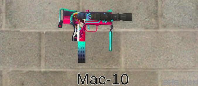 求生之路2CSGO霓虹骑士MAC10消音版冲锋枪MOD截图2