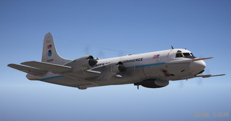 侠盗猎车手5洛克希德WP-3D猎户座气象侦察机MOD截图0