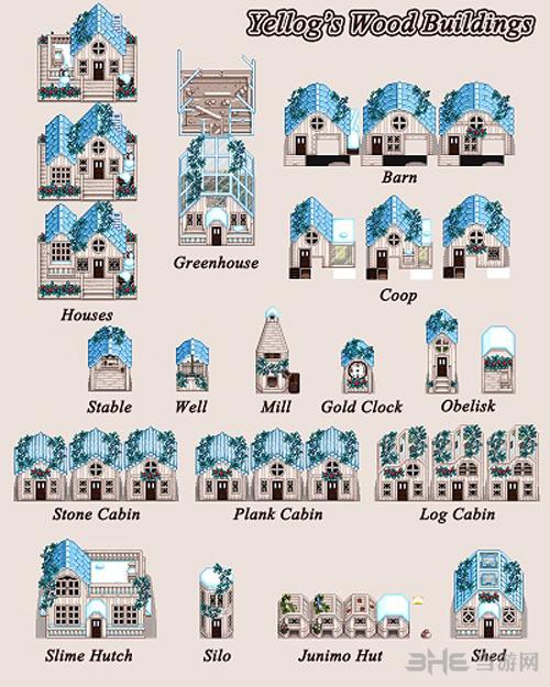 星露谷物语更好看的房屋MOD截图0