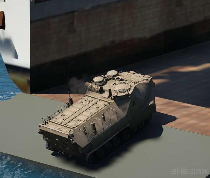 侠盗猎车手5AAV-A1两栖突击车MOD截图1