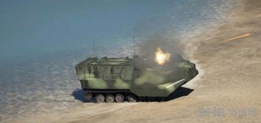 侠盗猎车手5AAV-A1两栖突击车MOD截图2