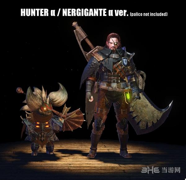 怪物猎人世界黑剑客MOD截图0