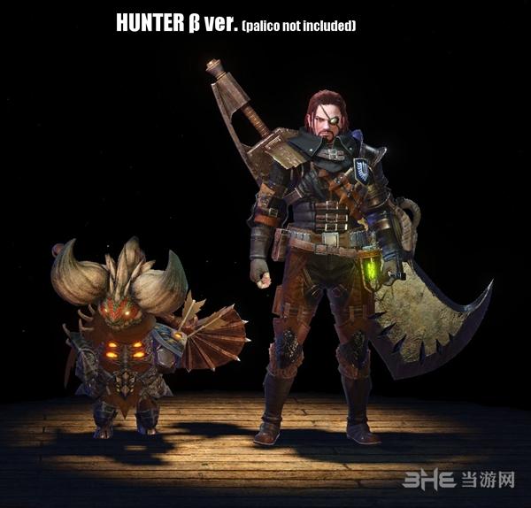 怪物猎人世界黑剑客MOD截图1