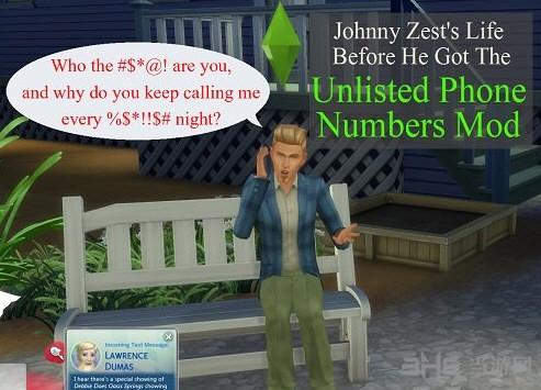 模拟人生4未上市的电话号码MOD截图0