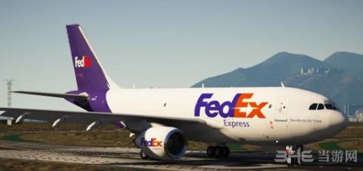 侠盗猎车手5空客A310-300干线客机MOD截图1