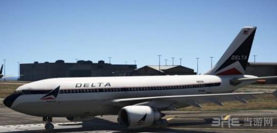 侠盗猎车手5空客A310-300干线客机MOD截图0