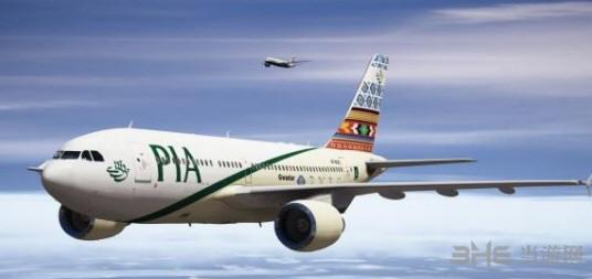 侠盗猎车手5空客A310-300干线客机MOD截图2