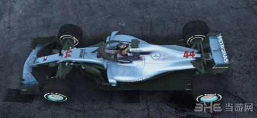 侠盗猎车手5AMG Petronas EQ Power W09 F1赛车MOD截图0