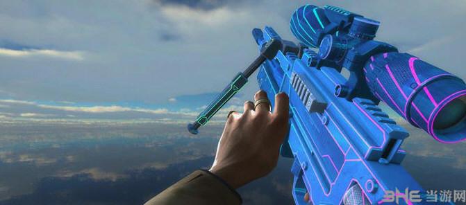 求生之路2使命召唤OL瓦尔特2000霓虹狙击枪MOD截图2