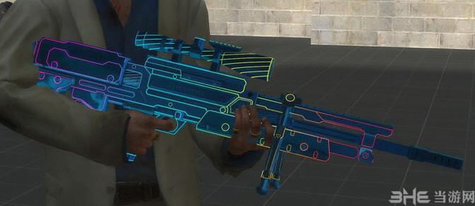 求生之路2使命召唤OL瓦尔特2000霓虹狙击枪MOD截图4