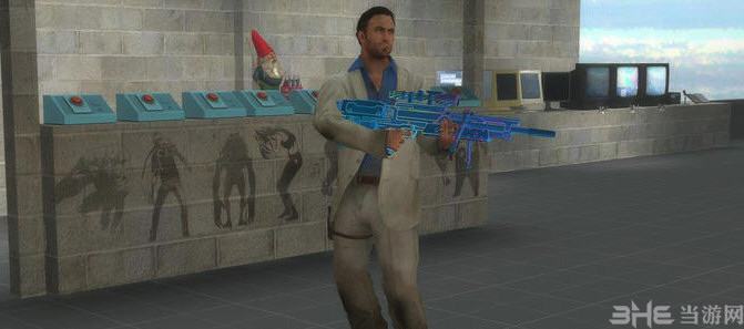 求生之路2使命召唤OL瓦尔特2000霓虹狙击枪MOD截图3