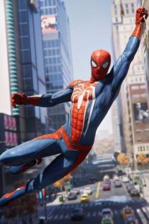 漫威蜘蛛侠1080P高清壁纸 PS4蜘蛛侠壁纸大全