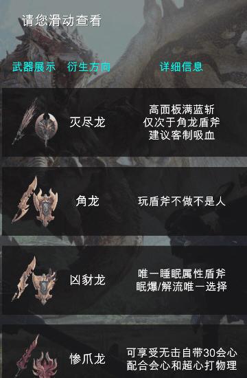怪物猎人世界配装器安卓版截图1