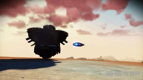 无人深空转换成气垫船MOD截图0