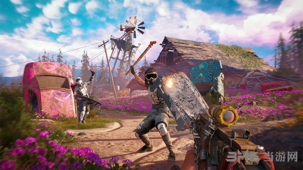 孤岛惊魂新曙光游戏截图