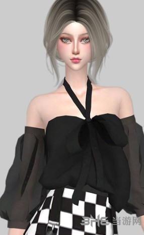 模拟人生4露肩时尚上衣MOD截图0