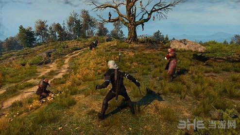 巫师3狂猎战斗可以奔跑MOD截图0