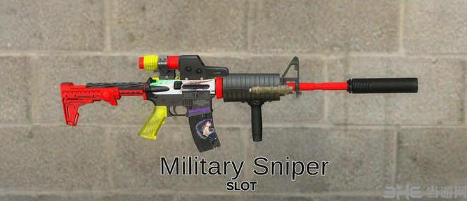 求生之路2M16狙击枪少女皮肤MOD截图1