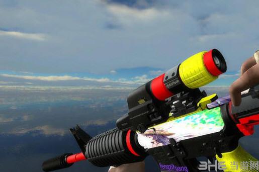 求生之路2M16狙击枪少女皮肤MOD截图2