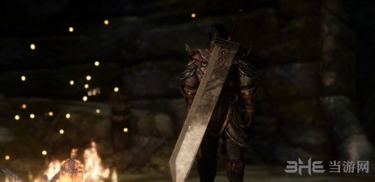 上古卷轴5天际最终幻想7破坏之剑MOD截图3
