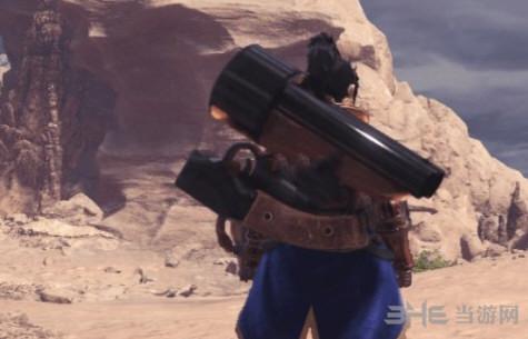 怪物猎人世界双管猎枪MOD截图0