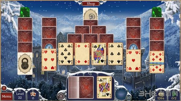 宝石配对纸牌冬季雪景截图4