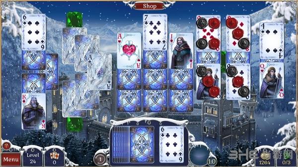 宝石配对纸牌冬季雪景截图5