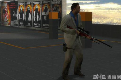 求生之路2金龙狙击枪MOD截图3