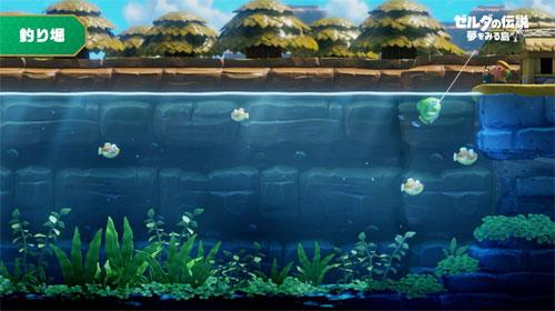 塞尔达传说织梦岛游戏截图