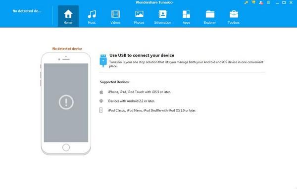 Wondershare TunesGo(IOS文件传输工具)