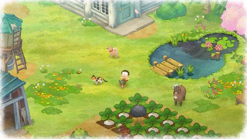 《哆啦A梦:牧场物语》游戏截图5