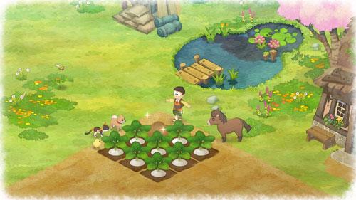 《哆啦A梦:牧场物语》游戏截图6