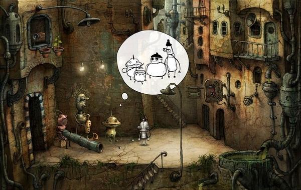机械迷城游戏截图