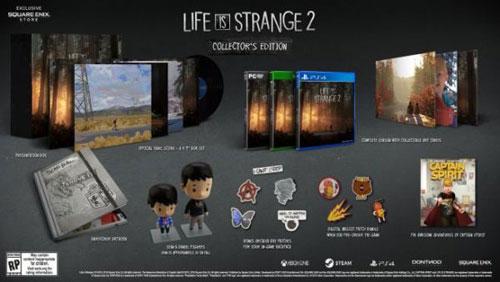 《奇异人生2》收藏版内容一览