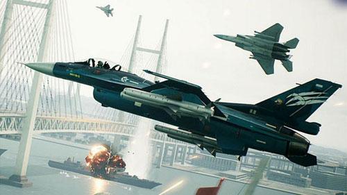 《皇牌空战7》游戏截图1