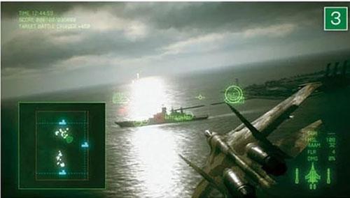 《皇牌空战7》游戏截图3