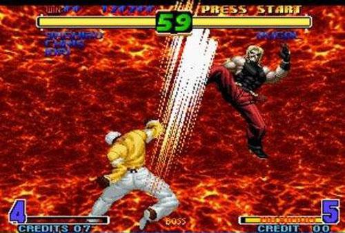 拳皇十周年纪念版游戏截图5