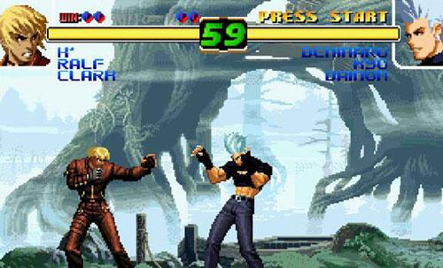 拳皇十周年纪念版游戏截图7