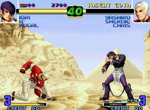 拳皇十周年纪念版游戏截图6
