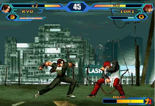 拳皇十周年纪念版游戏截图8