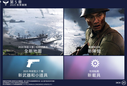 《战地5》太平洋战争内容
