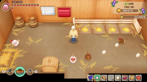 牧场物语重聚矿石镇游戏截图
