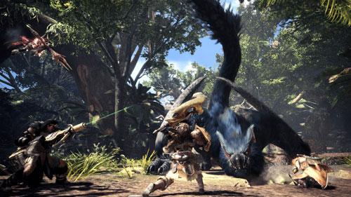 《怪物猎人世界:冰原》游戏截图
