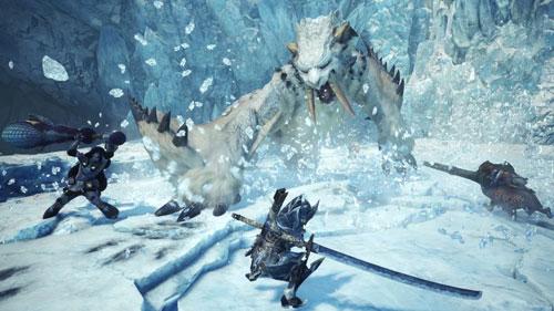 《怪物猎人:世界》游戏截图