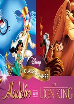 迪士尼�典游�颍喊⒗�丁和�{子王(Disney Classic Games: Aladdin and The Lion King)PC硬�P版