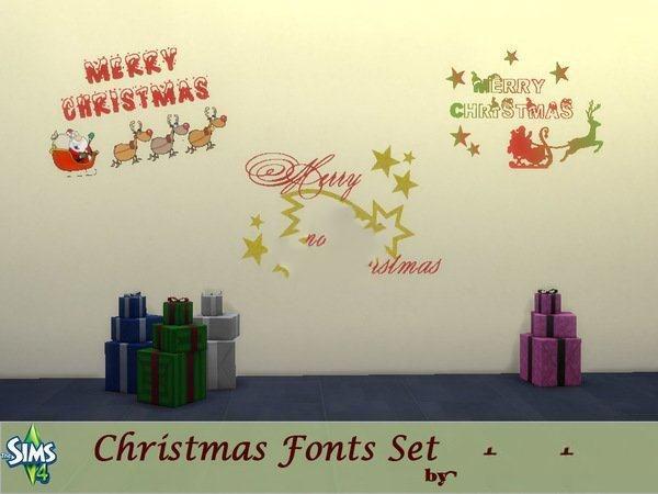 模拟人生4圣诞节涂漆MOD截图0