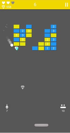 砖块粉碎游戏截图0